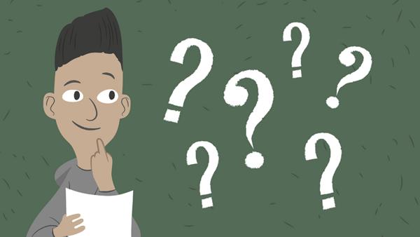 Inden interviewet skal du skrive dine spørgsmål ned. Du skal også beslutte, om du vil optage interviewet eller skrive svarene ned undervejs.