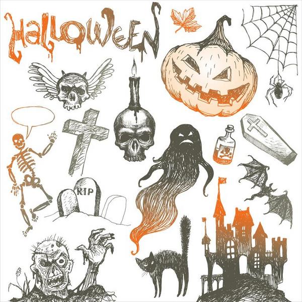 Halloween  aktivitet  Foto  Colourbox com