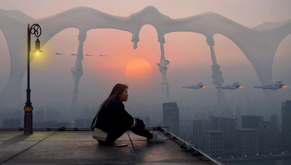 I science fiction er der noget, du kan genkende fra din egen verden. Men der er også noget, du kun kan forestille dig i fremtiden eller i et parallelt univers.