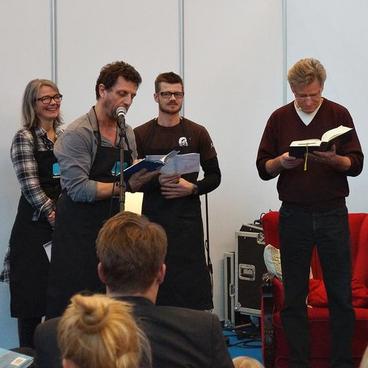 "Performancelitteratur – når litteraturen sker ""live"""