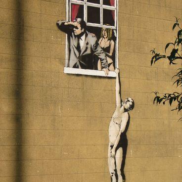 Streetart og graffiti