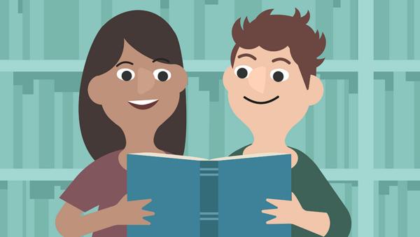 Det er dejligt at dele en god læseoplevelse med andre.